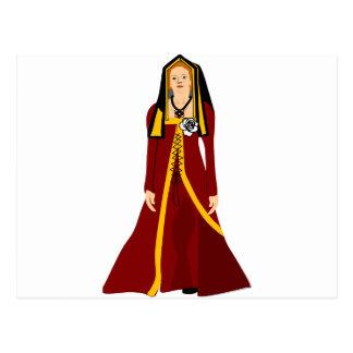 Elizabeth of York Postcard