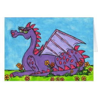 Elizabeth the Dragon Greeting Cards