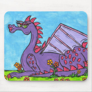 Elizabeth the Dragon Mouse Pad