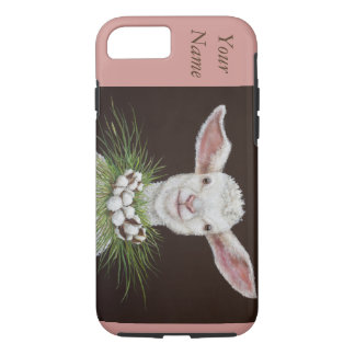 Elizabeth the Lamb Apple iPhone 7 Tough Phone Case