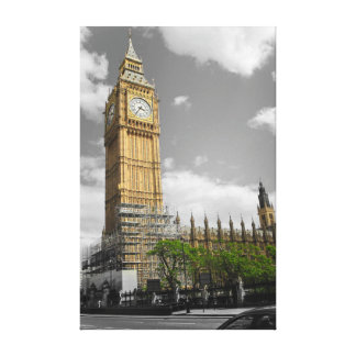 Elizabeth Tower aka Big Ben Canvas Print