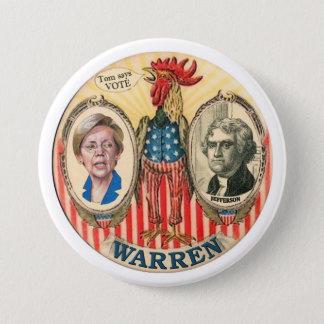 Elizabeth Warren 2016 7.5 Cm Round Badge
