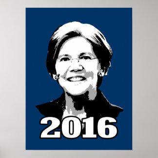 Elizabeth Warren 2016 Candidate Poster