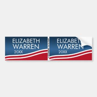 Elizabeth Warren 2020 BOGO Bumper Sticker