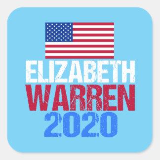 Elizabeth Warren 2020 Square Sticker