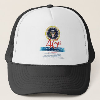 Elizabeth Warren 46th President – FUTURE Trucker Hat
