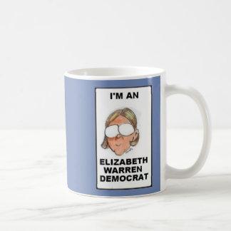 ELIZABETH WARREN DEMOCRAT COFFEE MUG