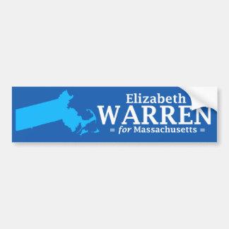 Elizabeth Warren for Massachusetts Bumper Sticker