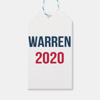 Elizabeth Warren for President 2020 Gift Tags