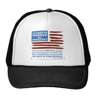 Elizabeth Warren for President Cap