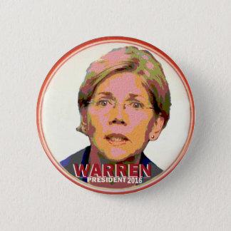 Elizabeth Warren for President in 2016 6 Cm Round Badge