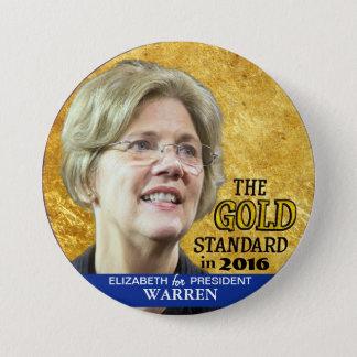 Elizabeth Warren for President in 2016 7.5 Cm Round Badge