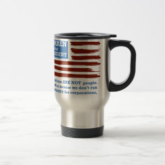 Elizabeth Warren for President Travel Mug