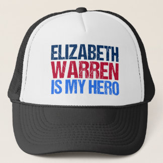 Elizabeth Warren is My Hero Trucker Hat