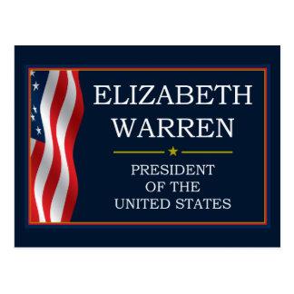 Elizabeth Warren President V3 Post Cards