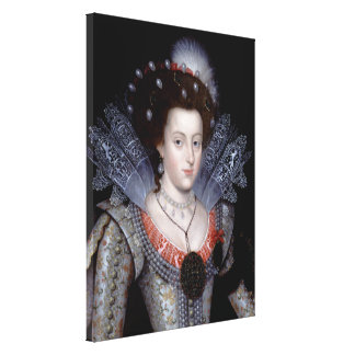 Elizabeth, Winter Queen of Bohemia Canvas Print
