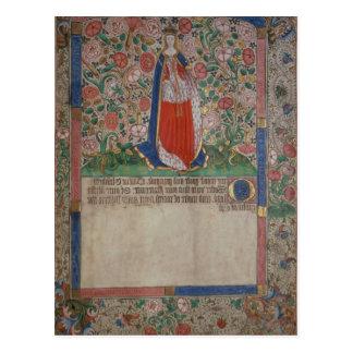Elizabeth Woodville  Queen Consort of King Edward Postcard