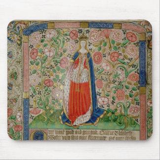 Elizabeth Woodville  Queen Consort of King Mouse Pad