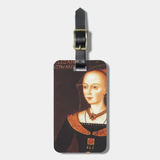 "Elizabeth Woodville ""The White Queen"" Luggage Tag"