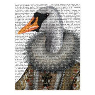 Elizabethan Swan Postcard