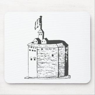 Elizabethan Theatre Sketch II Mousepads