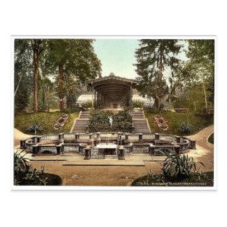 Elizabeth's Fountain, Homburg (i.e. Bad Homburg vo Postcard