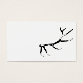 Elk Antler Business Card