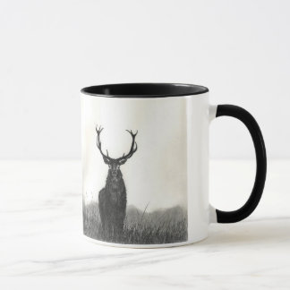 Elk Art Wild Animals Contrast Coffee Mug