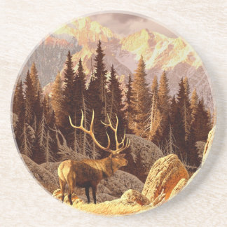 Elk Bull Coaster