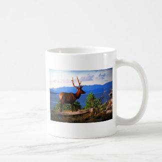 Elk by Yellowstone Lake Mugs