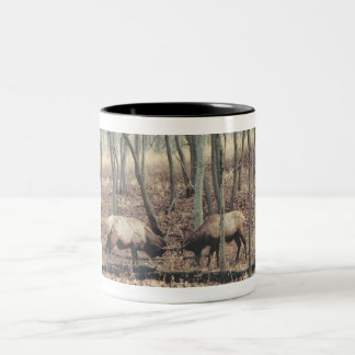Elk Coffee cup Two-Tone Mug
