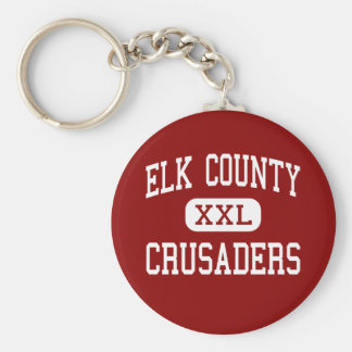 Elk County - Crusaders - Catholic - Saint Marys Key Chains