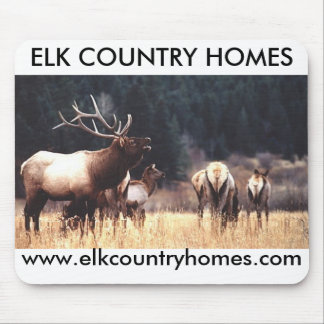 Elk, ELK COUNTRY HOMES, www.elkcou... - Customized Mouse Pad