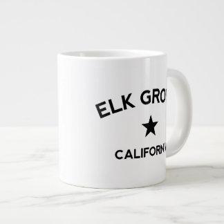 Elk Grove California 20 Oz Large Ceramic Coffee Mug