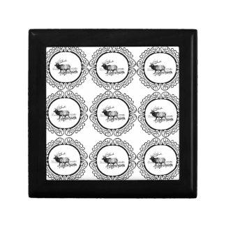 elk herd in cluster gift box