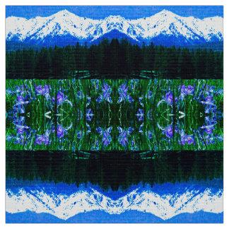 Elk Horn Iris Fabric