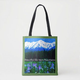 Elk Horn Mountain Tote Bag