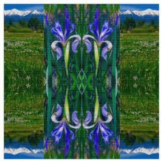 Elk Horn Spring Iris Fabric