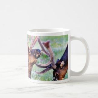 Elk Horns Coffee Mugs