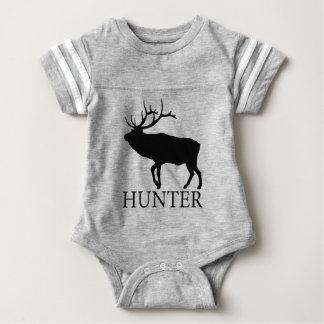 Elk Hunter Baby Bodysuit