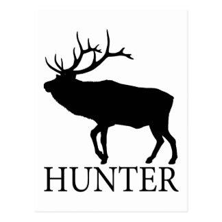 Elk Hunter Postcard
