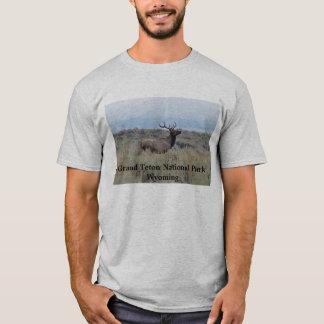 Elk in Grand Teton National Park T-Shirt