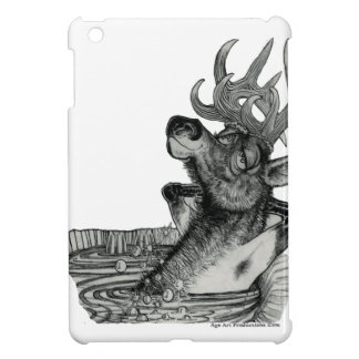 ELK IN HOT TUB iPad MINI COVERS
