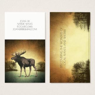 Elk In Landscape Business Cards