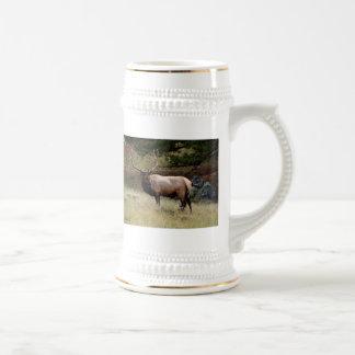 Elk in the Wild Beer Steins