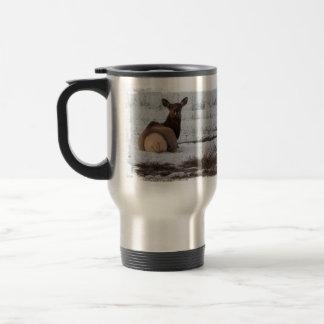 Elk Interest Stainless Steel Travel Mug