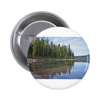 Elk Lake Oregon Cascades Pin