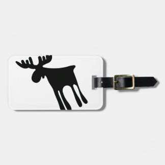Elk/Moose Luggage Tag