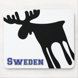 Elk/Moose, Sweden Mouse Pad
