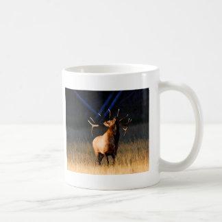 elk basic white mug